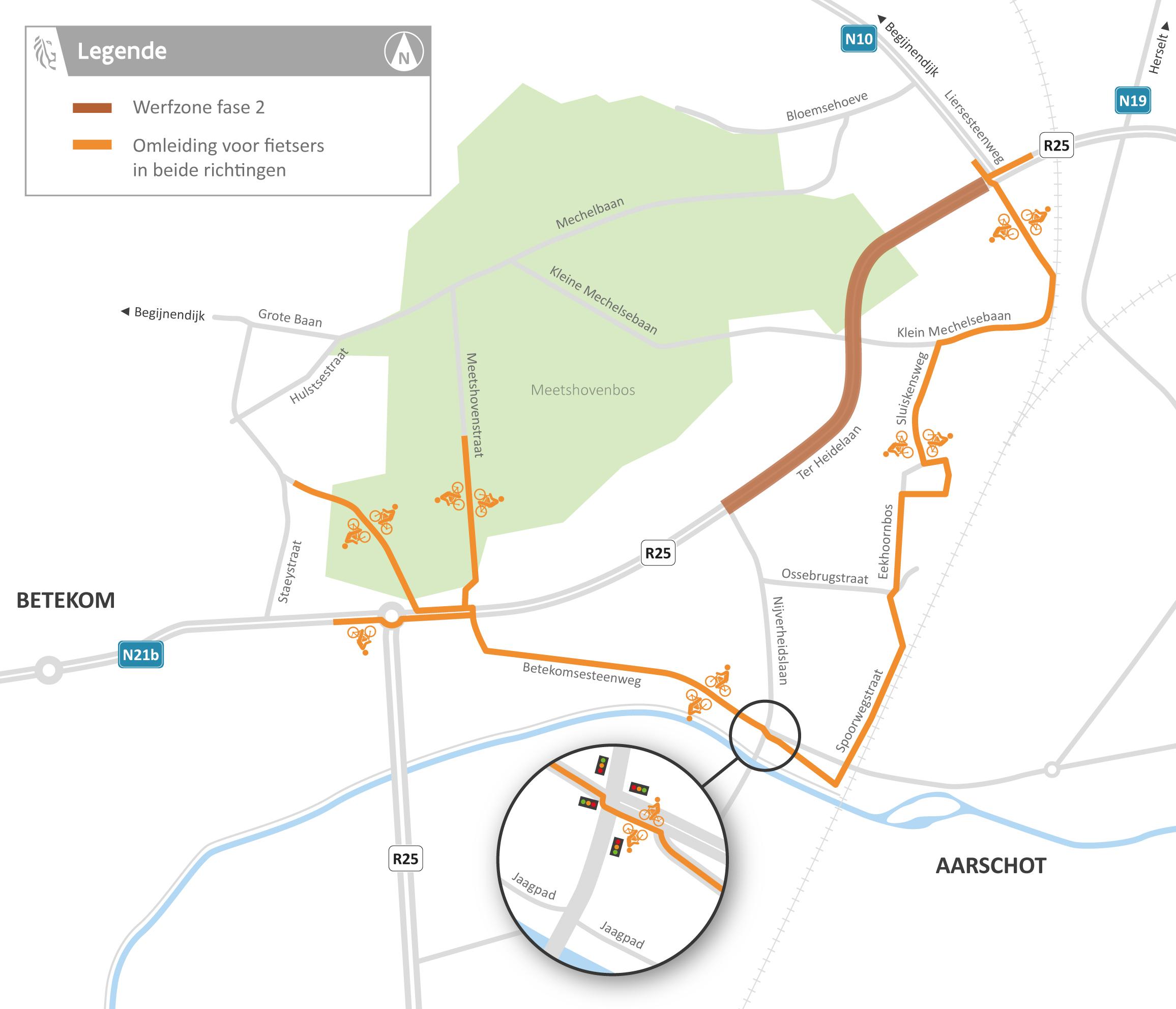 2021-03-9_AWV_BA_R25_Aarschot_fietsomleiding fase 2