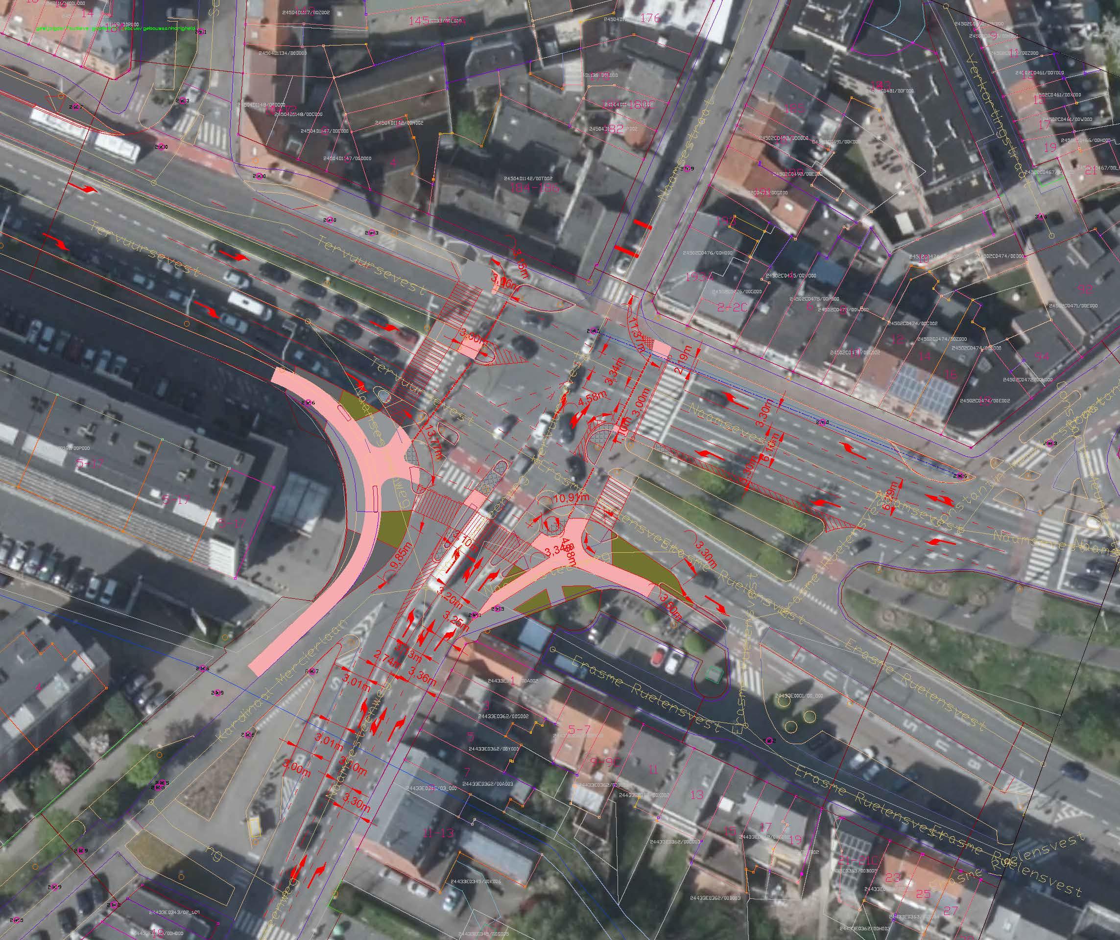 Aanpassingen fietsers Naamsepoort