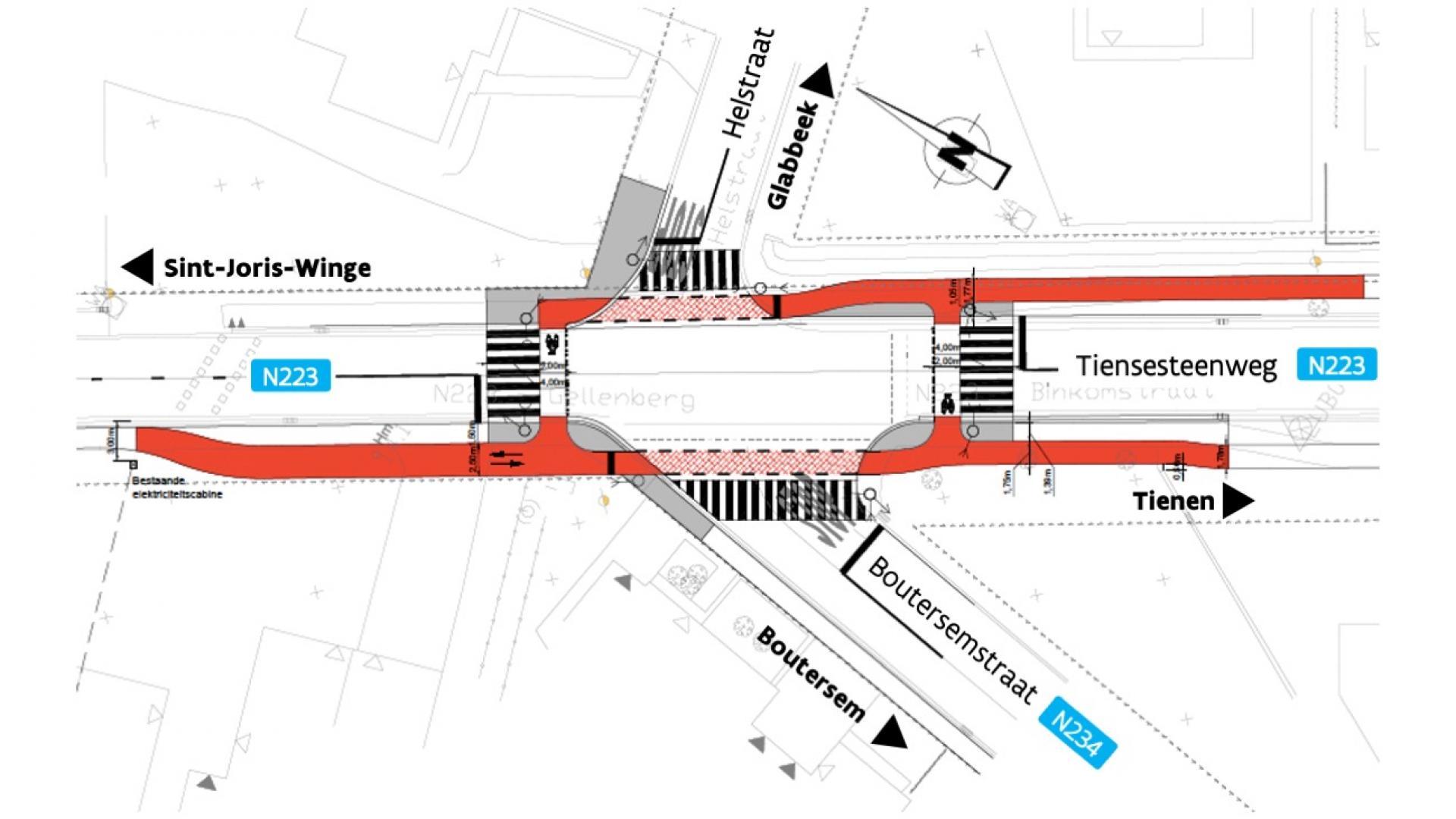 Ontwerp Boutersemstraat Helstraat_update